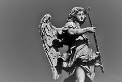 COS LONTANO, COS VICINO (stefanonikon1) Tags: cassiel blackwhite d7000 nikon afsnikkor35mm18g angel