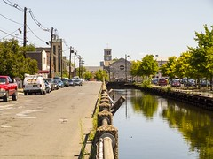 Canal by Passaic Street (CityCollector) Tags: trenton nj newjersey new jersey capital urban city decay architecture canal infrastructure abandoned passaicstreet delawareandraritan dr