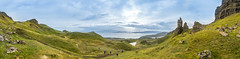 Photographers enjoy visiting the Old Man of Storr (mendhak) Tags: highlands isleofskye oldmanofstorr panorama photographers raasay ridge scotland skye storr trotternish exif:lens=e1018mmf4oss camera:make=sony geo:lat=5750965745 exif:make=sony geo:lon=617460213 exif:model=ilce6300 geocountry geostate camera:model=ilce6300 geolocation exif:focallength=10mm geocity exif:isospeed=400 exif:aperture=63