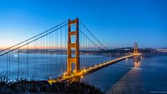 Golden Gate Bridge (BadalChhatbar) Tags: sonya6000 sony1650mm sony sanfrancisco goldengatebridge bridge ca california landscape seascape pacificocean architecture outdoor water baybridge sf sky sunrise skyline building marinheadlands