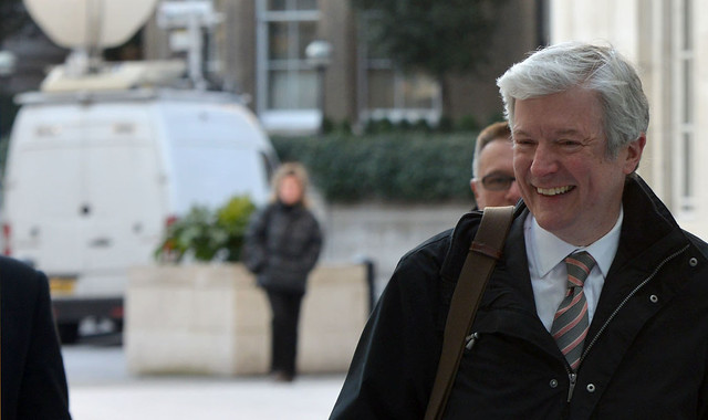 Tony Hall's first day as Director-General