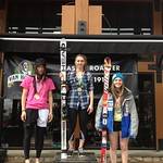 Panorama Spring Series, Stephanie Gartner 3rd overall in GS #2 PHOTO CREDIT: Gregor Druzina