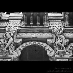 Sowcarpet Jain Temple Entrance (Sathish_Photography) Tags: india white black corner temple photography weekend entrance parry photowalk chennai jain tamilnadu sathish cwc clickers parrys sowcarpet