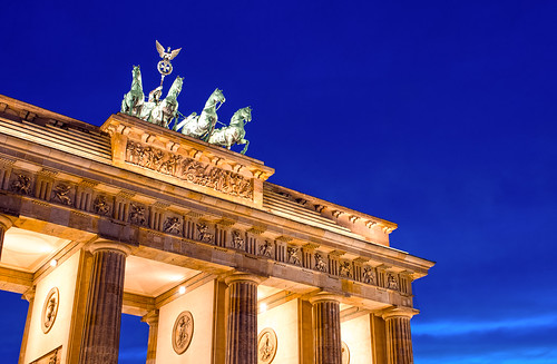 Berlin Brandenburger Tor Closeup