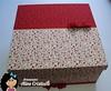 Linda Caixa Forrada (Line Artesanatos) Tags: caixa caixademadeira caixaforrada patchworkembutido