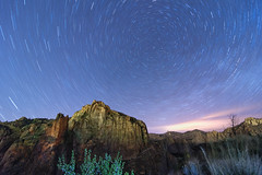 Smith Rock Star Trails (erika eve) Tags: longexposure oregon startrails smithrockstatepark nightskies centraloregonlandscape wwwerikaplummercom