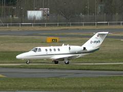 CESSNA 525 CITATIONJET CJ1 D-IRWR (BIKEPILOT) Tags: flying airport aircraft aviation aeroplane farnborough airfield aerodrome eglf cessna525citationjetcj1 dirwr
