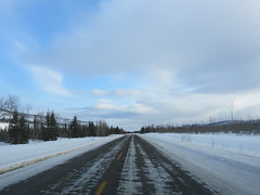 Compact snow patches on North Klondike Highway (jimbob_malone) Tags: yukon 2013 northklondikehighway