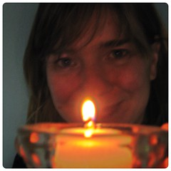 Happy Birthday... ( EkkyP ) Tags: light self dark square candle april 365 tealight wah flicker selfie project365 365days 2013 hereio uploaded:by=flickrmobile flickriosapp:filter=nofilter