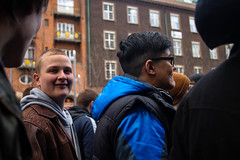 420 Parade #1 (takingthosepics) Tags: friends copenhagen glasses leaf weed smoke banner sunny 420 parade cranes ad
