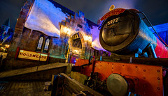 Wizarding World of Harry Potter: Hogwarts Express (Hamilton!) Tags: world station night zeiss train orlando florida wizard sony tripod hamilton wide harry potter fantasy carl land express universal studios hogwarts za ultrawide ultra hdr gitzo 1635 uwa hogsmeade a99 wizarding variosonnart281635 pytluk