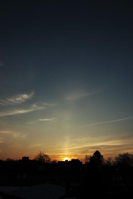 sunset pillar