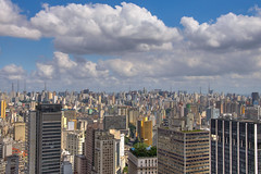 Sao Paulo Cityscape (roevin   Urban Capture) Tags: city brazil sky urban color building tower colors