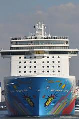 Norwegian breakaway (frankhensen) Tags: cruise max frank boot rotterdam norwegian dkw hummel breakaway schip hensen pelen wimlex rpa13 norwegianbreakaway