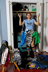 Day 2277 (evaxebra) Tags: blue socks clothing mess underwear stripe clothes zebra 365 striped wh 365days evaxebra