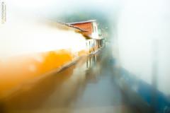 Belmira. (David Puerta Carmona) Tags: street blue color window rain yellow azul ventana calle lluvia paisaje amarillo pueblos antioquia belmira