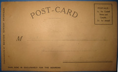 Verso of Post Card Buster Brown 9055 (Brechtbug) Tags: new york dog brown color hat by vintage magazine comics that cards tin us newspaper with post jane character postcard mary journal away william can pit bull give terrier stop card american strip richard postcards felton buster puck nothing 1906 hearst verso cartoonist randolph examiner lithograph tige resolved outcault