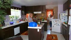 Kitchenworks (Gabriele B) Tags: birthday home kitchen gabi gina debra mimma