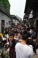 Too Much People @Xitang Ancient Water Town, Jiaxing Zhejiang (Phreddie) Tags: china trip travel bridge family food holiday water river fun boat town ancient xitang oriental venetia zhejiang cannal    jiaxing 130429
