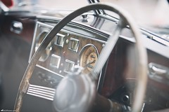 Classic Interior (Rick Nunn) Tags: wood classic car wheel vintage 60s interior rick 70s dashboard trim nunn edit wallnut canonef70200mmf28lis stockcategories