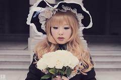 SDF_0382 (SendoFu) Tags: bonnet ボンネット エプロン風スカート blouse bl ブラウス headbow kc カチューシャ bnt 蕾絲 維多利亞 jsk op onepiecedress ワンピース jumperskirt ジャンパースカート nop lolita lolitafashion 蘿莉塔 蘿莉塔時裝 ロリータ・ファッション sweetlolita classicallolita