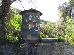Water Tower (fordsbasement) Tags: graffiti angelesnationalforest anf
