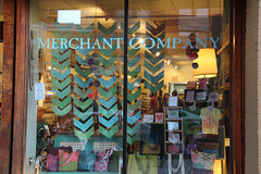 Merchant Company window (elizajanecurtis) Tags: portland maine portlandmaine shopwindow shopwindows displaywindow congressstreet themerchantcompany themerchantco
