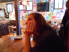 Meredith at Foster Burger (Screaming Ape) Tags: people oregon portland meredith fosterpowellneighborhood