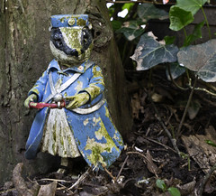 District Nurse (stevedexteruk) Tags: wales district south ornament badger nurse bridgend