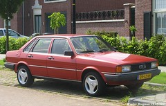 Audi 80 GLE 1980 (XBXG) Tags: auto old classic netherlands car vintage germany deutschland automobile nederland voiture german audi 80 1980 paysbas deutsch gle ancienne audi80 ulft allemande