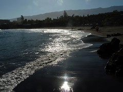 silver beach (werner boehm *) Tags: spain tenerife playajardin wernerboehm