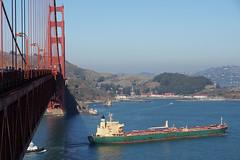 The Golden Gate Bridge (Neil Pulling) Tags: sf sanfrancisco california bridge usa coast pacific marin pacificocean goldengatebridge goldengate marincounty suspensionbridge californian sonya65