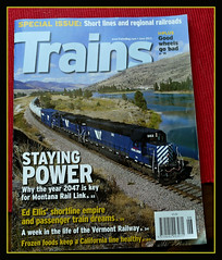 P1410895  Brandon Townley....Trains Magazine... (Tadie88) Tags: railways trainsmagazine