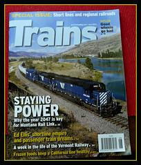 P1410895  Brandon Townley....Trains Magazine... (Tadie88) Tags: railways trainsmagazine