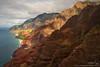 Napali Coast 01 (Evan Gearing (Evan's Expo)) Tags: ocean mountain hawaii view aerial kauai napalicoast nikond700 nikkor1635 evangearingphotography evansexpo