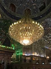 Interior Santuario de Shah Cheragh Shiraz Irn 02 (Rafael Gomez - http://micamara.es) Tags: de shrine iran interior persia shiraz  shah santuario irn cheragh