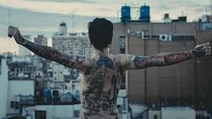 Tattoo babe (Laurita Church) Tags: tattoos ink inked buenosaires microcentro sannicolas caba argentina capital federal buildings city edificios ciudad