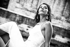 On the floor ... (alessandrafinocchiaro67) Tags: portrait woman white black monochrome beautiful beauty open body fx nicefeelings nikonflickraward nikond750