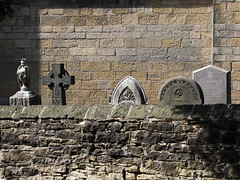 St Andrew, Stanley, County Durham (davewebster14) Tags: stanley gravestones standrew church