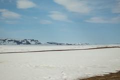 Krafla Viti Crater 02 (sarahmonious) Tags: kraflaviticrater kraftla viti myvatn kraftlavolcano volcanocrater crater hverir snow route1iceland route1 ringroad iceland iceland2016 icelanding2016 traveling