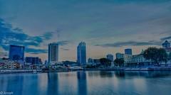 Daybreak (josephteh) Tags: daybreak dawn boatquay singaporeriver longexposure sunrise waterfont singapore river sony