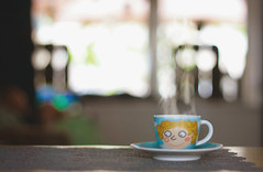 Coffee Love (TuukiTuuki) Tags: coffee love heart steam ritzenhoff cup espresso smile addiction canon