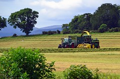 (Zak355) Tags: rothesay isleofbute bute farming farm silage tractors johndeere fendt scotland scottish