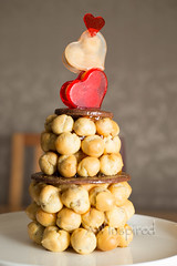 My Mini Love-embouche! (AW Inspired Cakes) Tags: cake croquembouche heart love loveembouche
