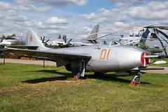 01 Red (Powercube) Tags: mig mikoyan mikoyangurevich mikoyangurevichmig9 mig9 monino centralairforcemuseum russiaairforce russianairforce vvs vvsrussia