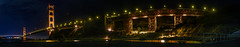 northern anchor (pbo31) Tags: california nikon d810 bayarea august 2016 summer boury pbo31 color northerncalifornia sanfrancisco panoramic large stitched panorama goldengatenationalrecreationarea marincounty northbay goldengatebridge 101 bridge night dark black fortbaker reflection orange
