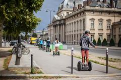 Segway Train (James Hodgson Photography) Tags: segway paris train helmet street photography 50mm 14 bokeh summer france cole militaire travel