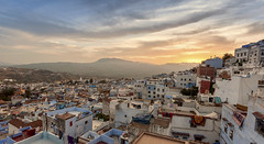 _MG_9755-HDR-Edit (b.abdelali) Tags: morocco chefchaouen mountains oldcity town sunset colors light sky clouds hdr medina