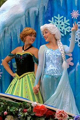 Sisters (jordanhall81) Tags: sisters frozen norway anna elsa queen princess ice snow powers magical magic kingdom mk troll legend arendelle story festival of fantasy fof parade walt disney wdw resort world entertainment show live face character look alike orlando florida theme park