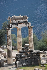 The Delphic Tholos (gilmorem76) Tags: greece travel tourism delphi delfi tholos temple architecture greek